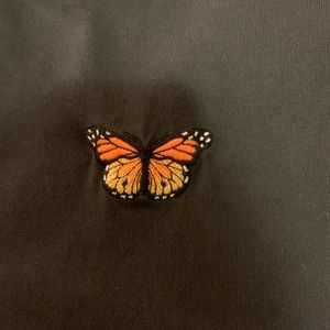 brandy Melville butterfly T-shirt